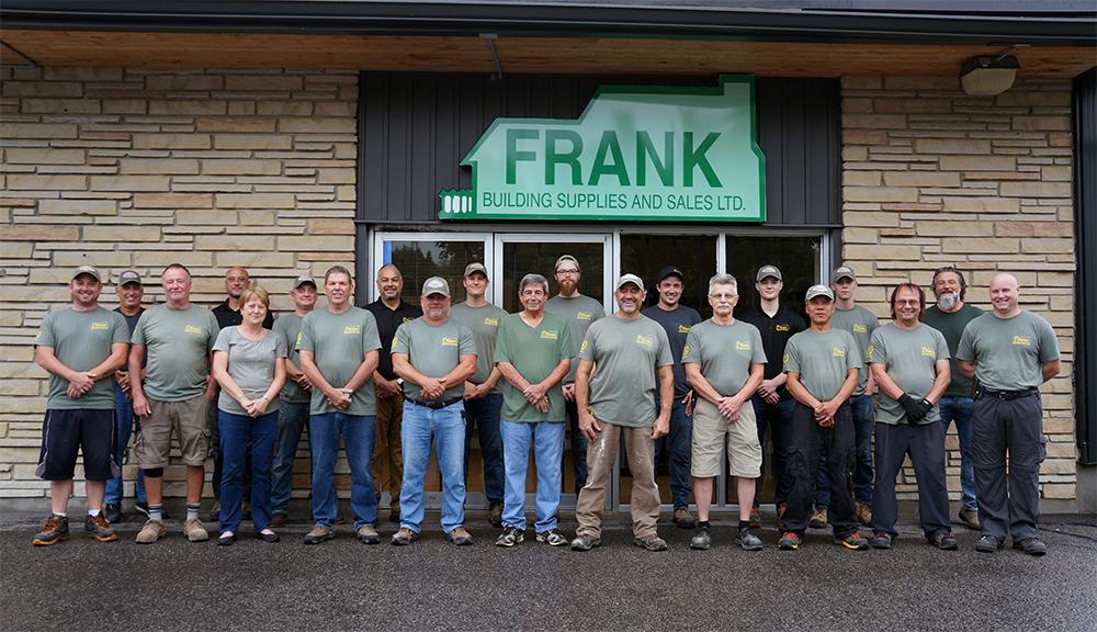Frank Building Supplies Team